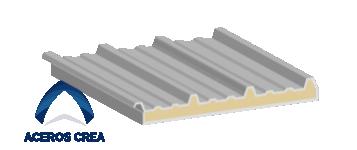 Estructura del panel Econotecho