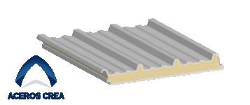Estructura del panel galvatecho