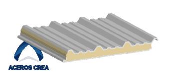 Estructura del panel Glamet