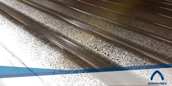 Lámina ondulada galvanizada Ternium
