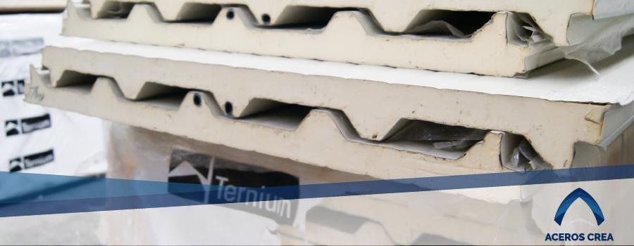 Venta de panel aislante Ternium