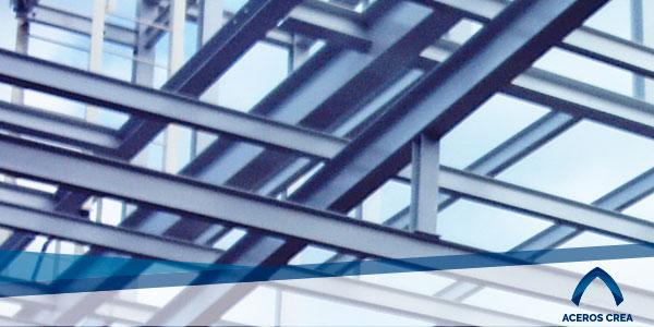 Estructura de acero con viga IPR