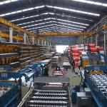 Bodega de productos, Aceros Crea SA de CV.