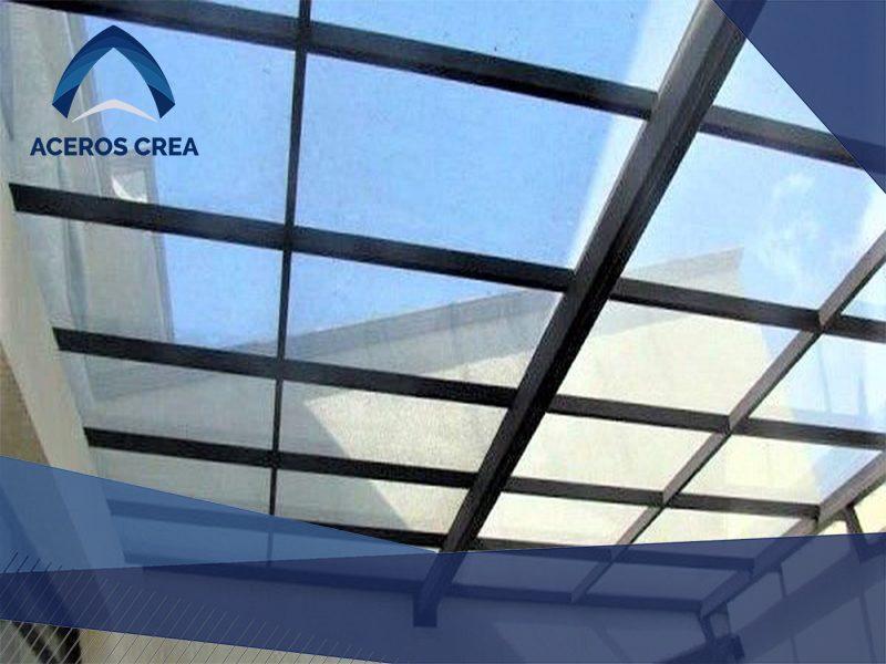 techo de policarbonato sólido